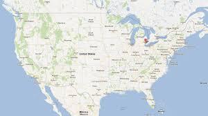 map usa detroit detroit michigan map