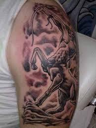 sagittarius the archer tattoo on sleeve in 2017 real photo