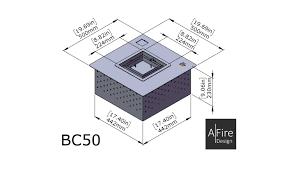 square and round ethanol burner inserts for designer hearths afire