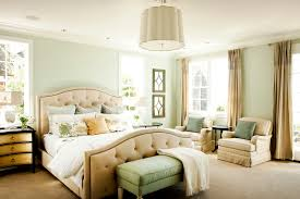 sherwin williams sea salt bedroom traditional with carpeting bedding