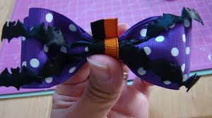 halloween bow ties simple halloween hair bows may arts wholesale ribbon company