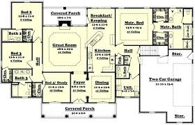 cheap 4 bedroom house plans bedroom house plans farmhouse exterior front elevation plan 430