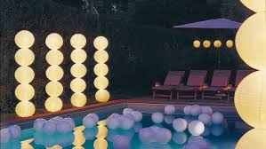 Glow In The Dark Home Decor How To Throw A Glow In The Dark Pool Party Martha Stewart