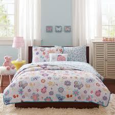 Indie Bedspreads Amazon Com Mi Zone Kids Fluttering Farrah Complete Quilted