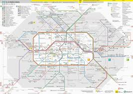 underground map zones berlin metro map mapseek