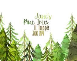 cute trees pine trees etsy