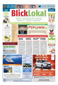 Sparkasse Bad Mergentheim Blicklokal Bad Mergentheim Kw16 2017 By Blicklokal Wochenzeitung