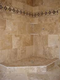travertine tile ideas bathrooms best tile for shower best pebble shower floor travertine tile