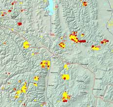 Montana County Map by Missoula County Mt Current Air Quality