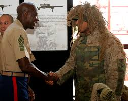former commandant and sergeant major of the marine corps are
