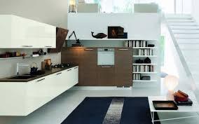 le suspendue cuisine design interieur aménagement cuisine moderne blanche armoires