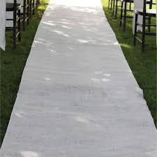 white aisle runner aisle runner www partymill