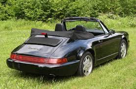 1990 porsche 911 convertible 1990 porsche 911 carrera 4 cabriolet with 32k miles german cars