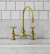 brass faucet kitchen unlacquered brass kitchen faucet kenangorgun