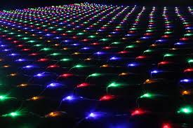 2016 new designed 110v lights led strings decorative net