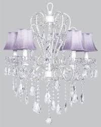 Purple Mini Chandelier This Would Be Cute In My Future Walk In Shoe Closet Naples Purple