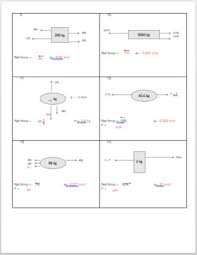 net force and f u003dma practice worksheet by physics with dante and lucio