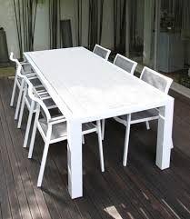 white outdoor table and chairs wonderful aluminium outdoor furniture outdoor table collection