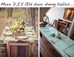 Door Dining Room Table 10 Diy Ideas To Give New Life To Old Doors