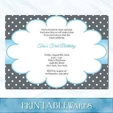 19 best images about printable birthday invites on pinterest