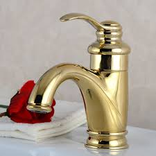 Single Handle Bathroom Sink Faucet by Polished Brass Bathroom Sink Faucet Basin Valve Tap Single Handle