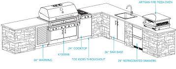 outdoor kitchen floor plans interesting outdoor kitchen floor plans 14 in florida home act