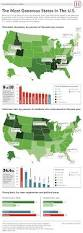 Republican States Map by One Thing Red States Do Better Than Blue States Infographic
