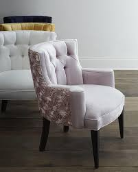 Tufted Accent Chair House Various Colors Tufted Roses Back Chair