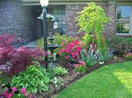 Simple Flower Garden Ideas Front Yard Flower Bed Ideas Front Yard Landscaping Ideas Home
