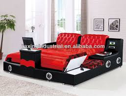 Tv Bed Frames Quality Modern Leather Bed Frame With Jx515 View Bed