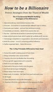 10 habits of self made millionaires visual ly hack14