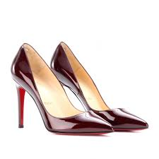 christian louboutin pigalle 100 patent leather pumps in red lyst