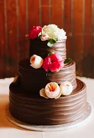 chocolate wedding cakes delicious flowers décor chocolate wedding cake ideas