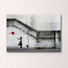 Modern Art Home Decor Wall Art Modern Home Decoration Abstract Huge Banksy There Is