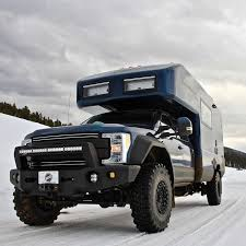 ford earthroamer xv hd tiger siberian adventure vehicle f350 camper pinterest