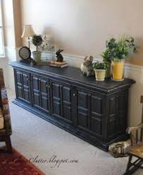 pottery barn buffet table 12 00 goodwill furniture repainted in pottery barn style check out