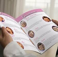 Magazine Wedding Programs Marry Me Magazines