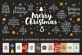 merry christmas vector set by zira zulu design bundles