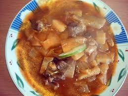 recette de cuisine viande recette de ragoût de banane vertes et manioc avec de la viande au