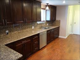 modern kitchen with oak cabinets kitchen awesome kraftmaid cherry cabinets what color flooring go