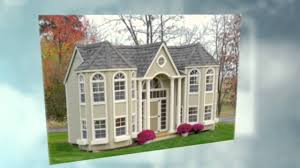 playhouse plans easy to build playhouse plan for backyard youtube