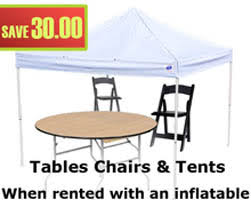 chairs and table rentals table chair rental riverside chair table rental magic jump