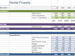 Excel Rental Template Excel Sheet For House Rent Collection Sle Business