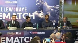 Sky Sports Live Desk Bellew Vs Haye Ii David Haye Questions Tony Bellew U0027s Motivation