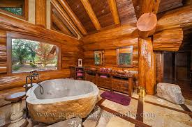 log home bathroom ideas bedrooms and bathrooms log home and cabin interiors pioneer log