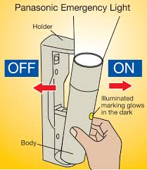 how emergency light works panasonic emergency light provides simple cost effective solution