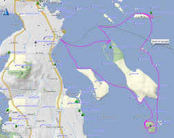 Kayak Map Kayaking The Gulf Islands With My Toddler U201cwe U0027re Going To Need A
