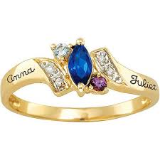 personalized rings for mothers mothers day rings