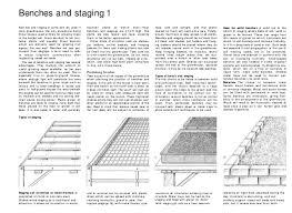 Metal Greenhouse Benches Growing Under Glass Choosing U0026 Equipping A Greenhouse Growing Plan U2026