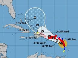 Where Is Cuba On A Map Hurricane Maria Path Where Is U0027catastrophic U0027 Storm Heading When
